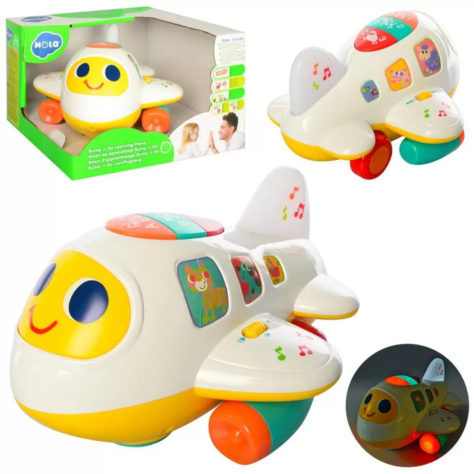 игрушечный самолет музыкальный