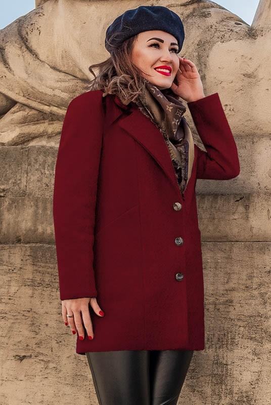 пальто букле, короткое пальто