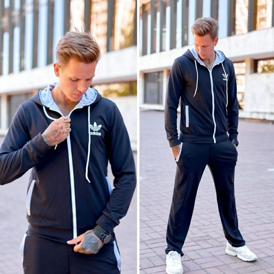 """Мужской демисезонный спортивный костюм Adidas """"Awesome"""""""