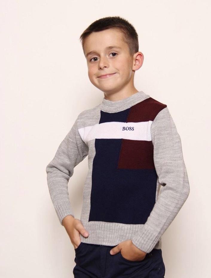 легкий свитера для мальчика подростка