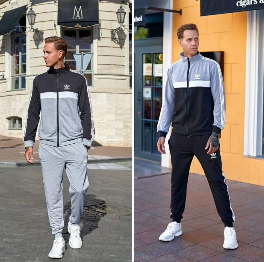 """Легкий двухцветный костюм Adidas """"Twin"""""""