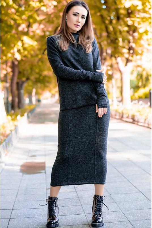 длинная юбка, теплая юбка