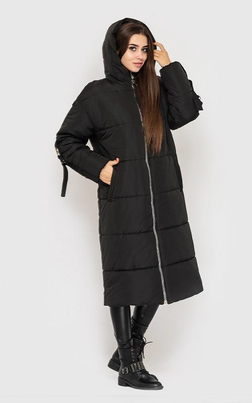 женский пуховик, зимнее пальто