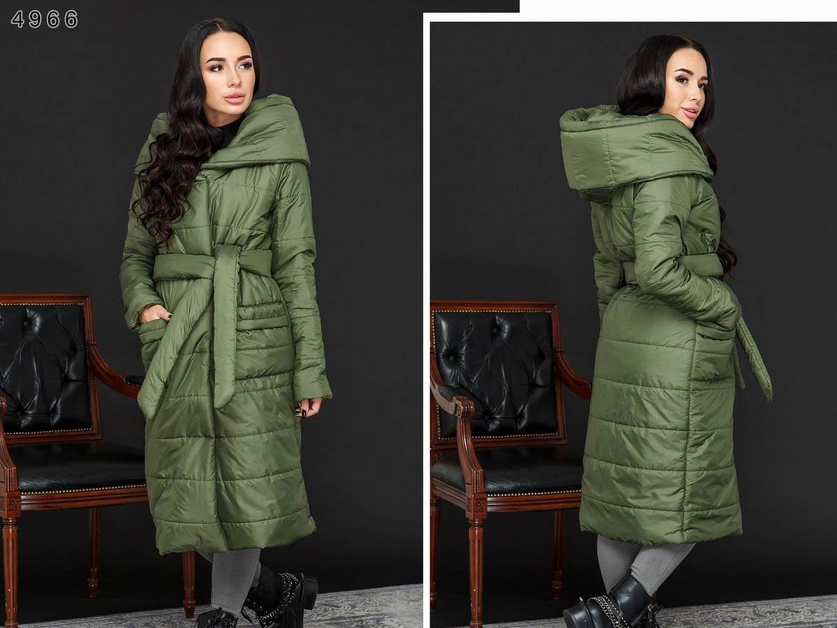 длинная куртка зимняя женская