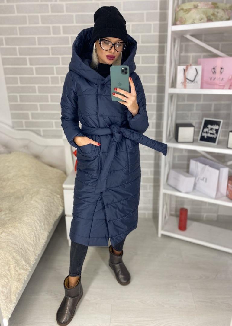 Стильная удобная женская куртка на синтепоне