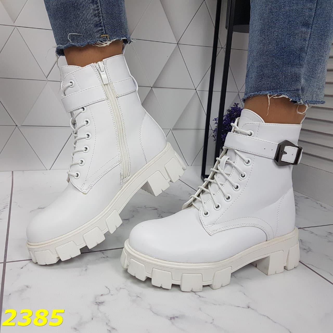 зимние ботинки, белые ботинки