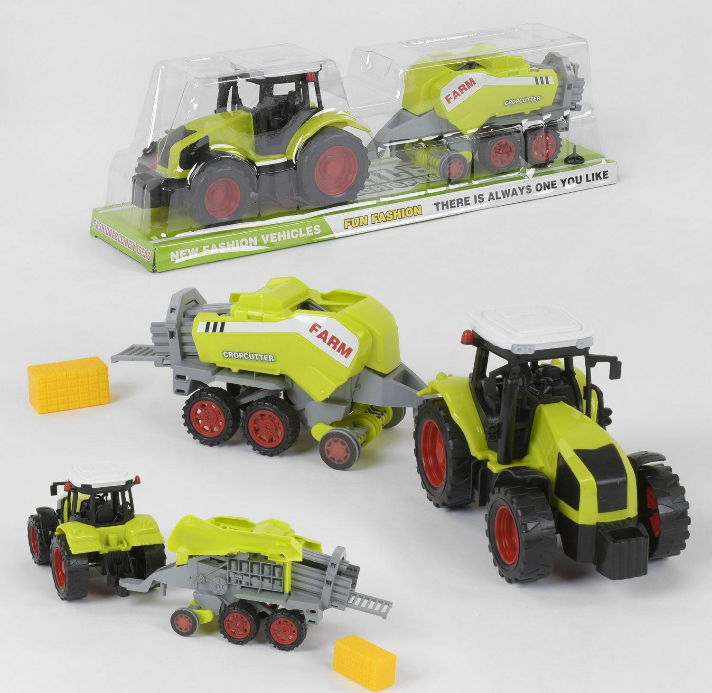 «Трактор» с прессом для тюков