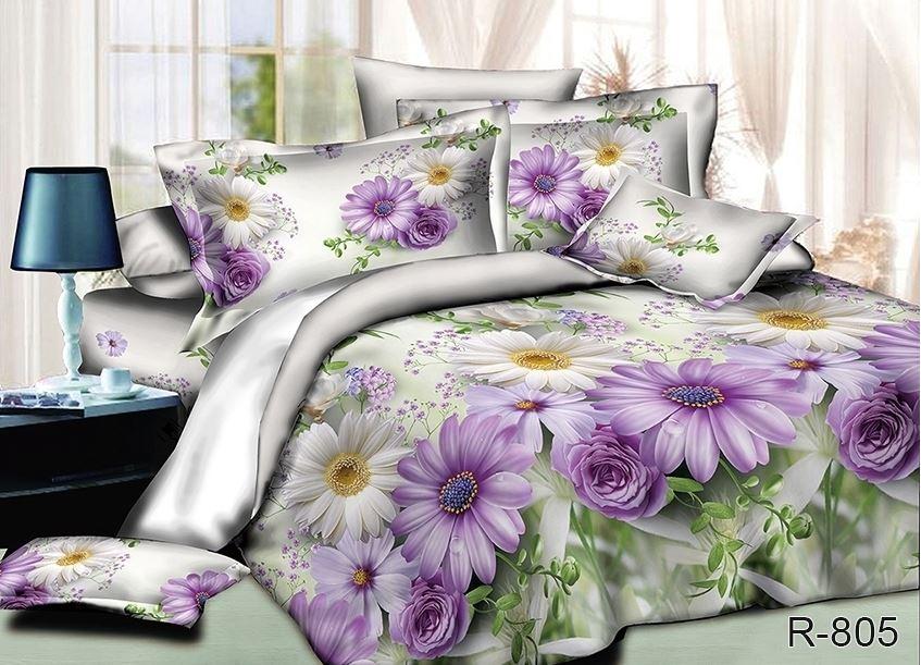 большие розы на постельном белье, постельное белье с розами