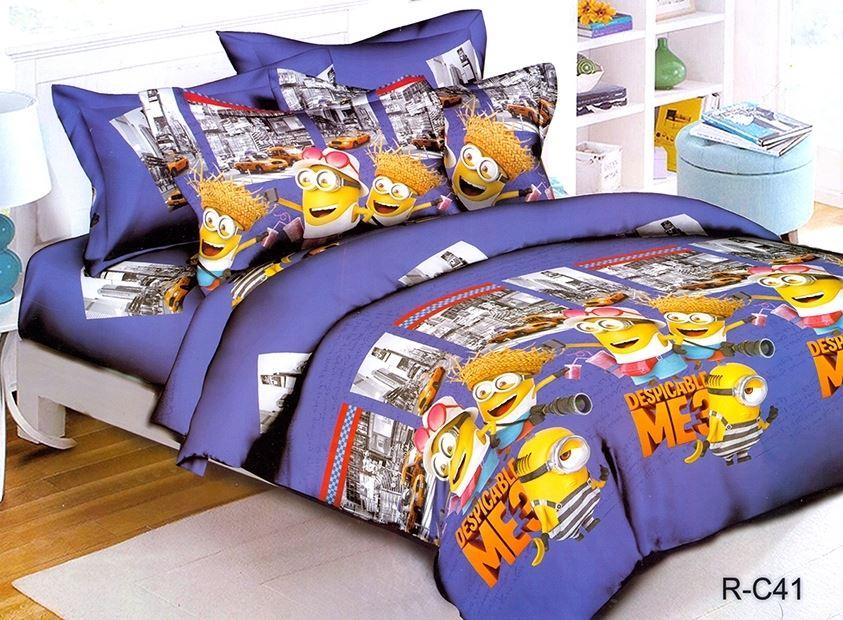 постельное белье детское миньоны