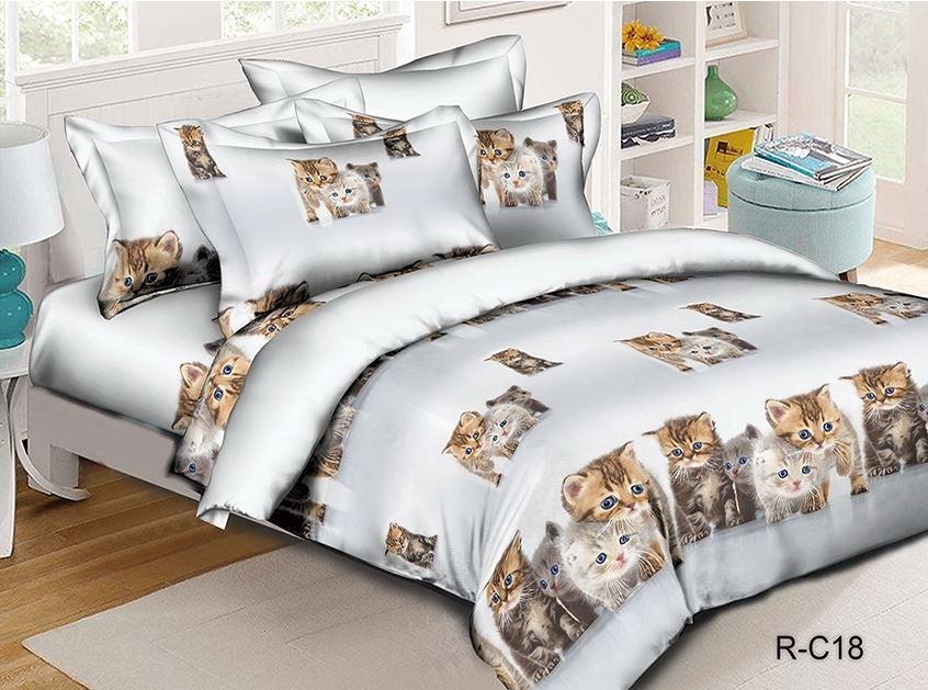 постельное с котятами