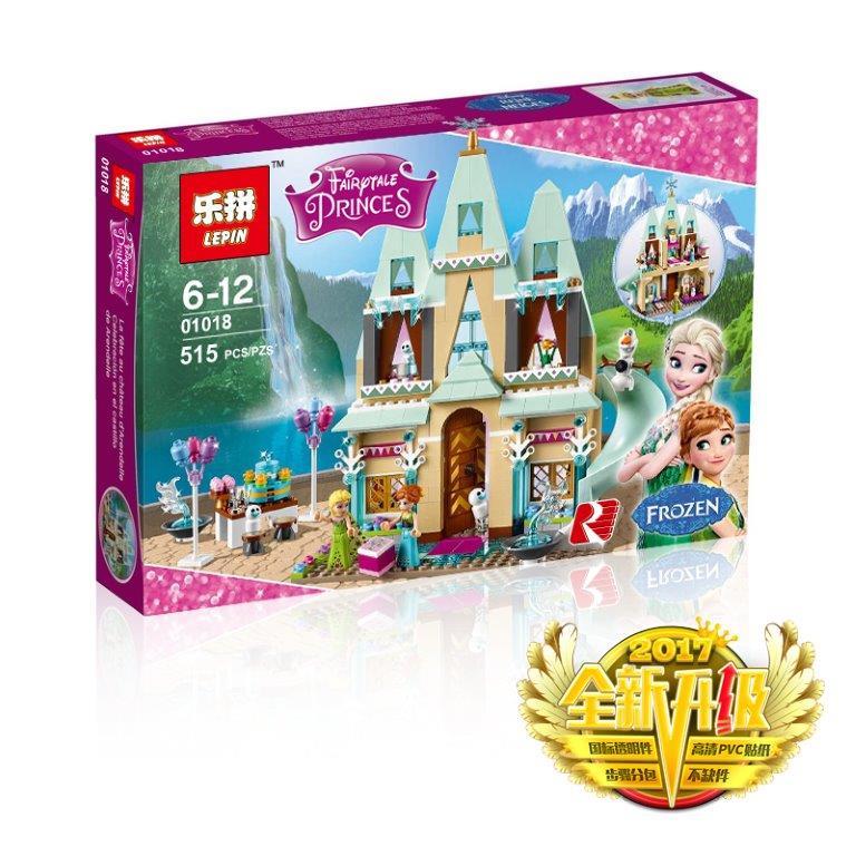 Красивый  конструктор для девочки «Замок принцессы ...