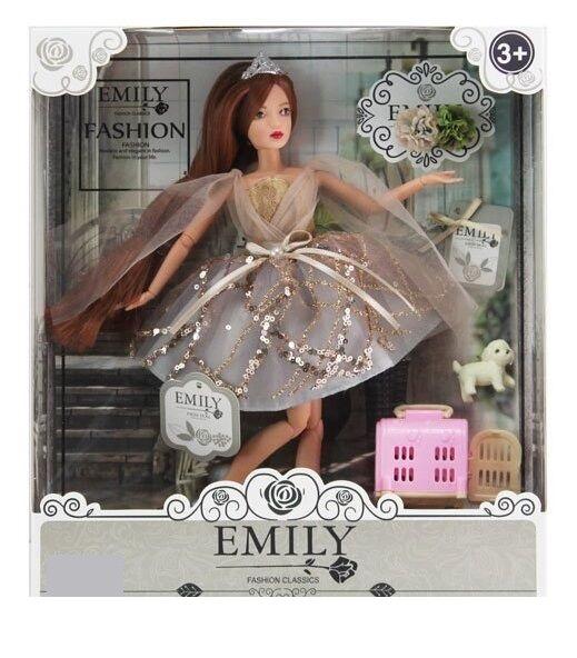 Кукла EMILY, с аксессуарами и питомцем