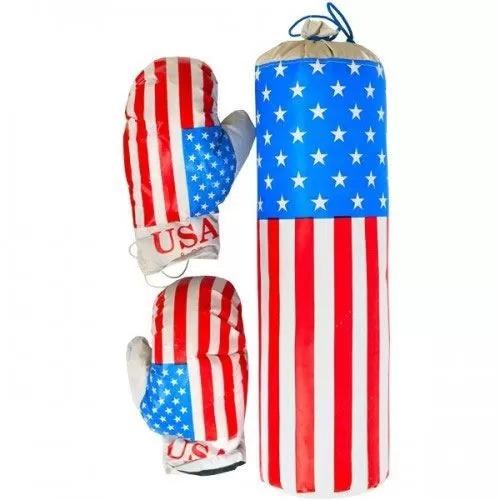 Боксерский набор Америка средний M-USA