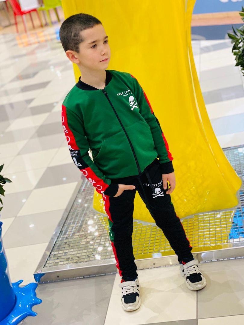 модный спортивный костюм детский для мальчика