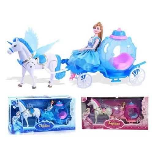 Игра – «Карета и лошадью»