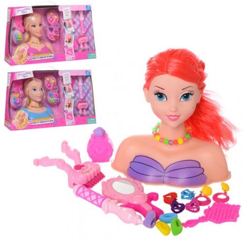 Красивая «Кукла-манекен» для причесок