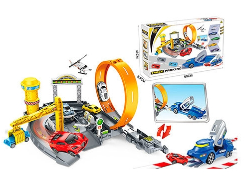 Превосходная игра «Автотрек скоростной»  для детей