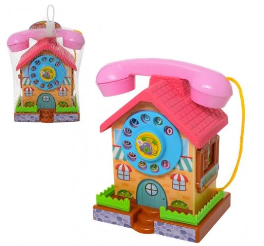 Развивающая детская игрушка  «Телефон домик-копилк ...