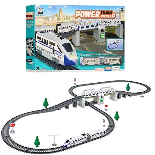 Захватывающая  детская игрушка «Железная дорога»