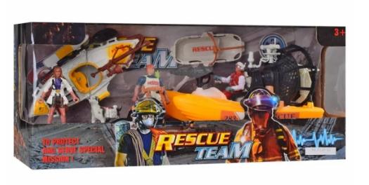 Детский игровой набор спасателей «Rescue Team»