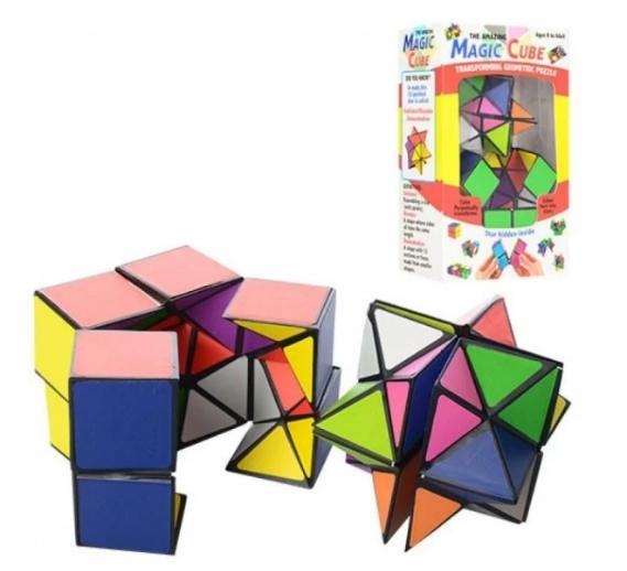 Популярная развивающая игра Кубик Рубика