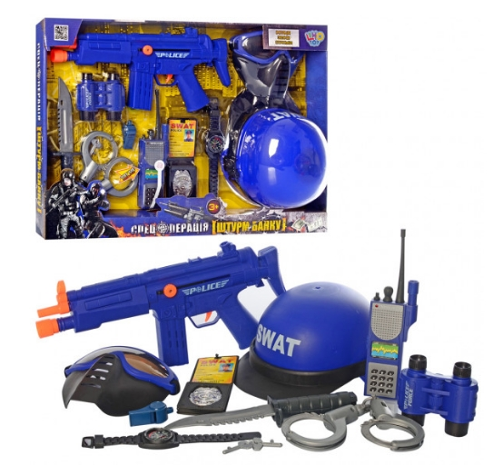 Отличный детский набор «Полицейские» для игр