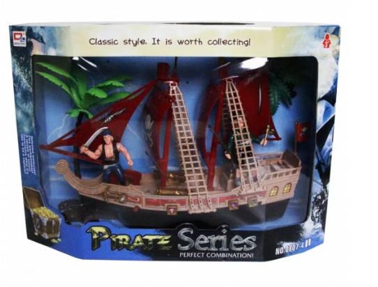 Прекрасный игровой набор «Пиратский корабль»