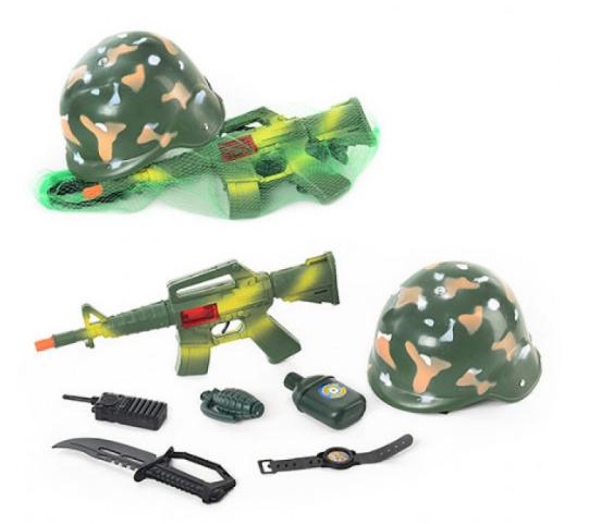Игровой военный набор «Юный Командир» для детей