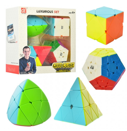 Замечательный набор головоломок Megaminx, Pyraminx ...