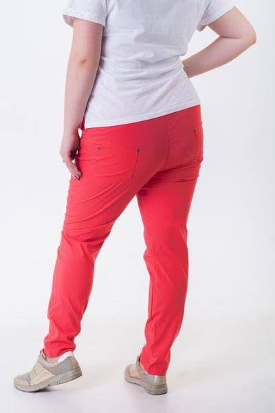 Стильные женские батальные летние штаны брюки