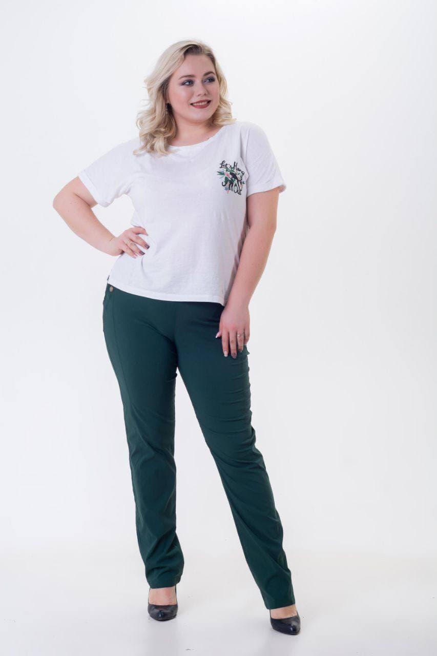 Стильные женские брюки классика больших размеров
