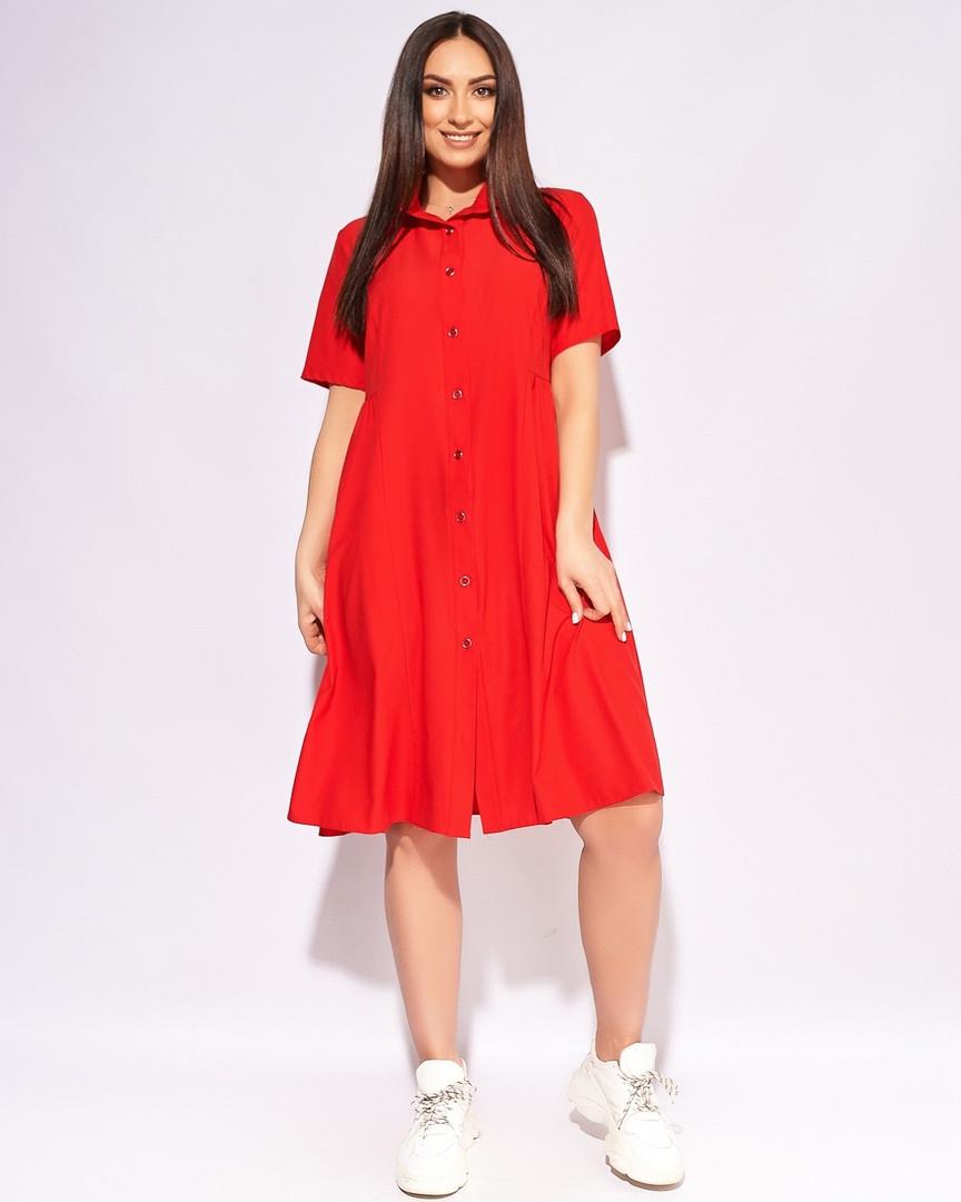 Качественное нарядное женское модное платье баталь ...