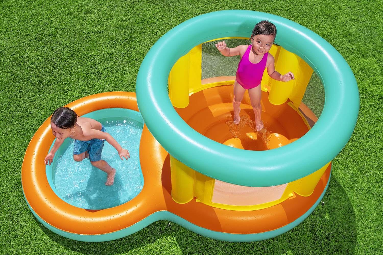 Детский игровой центр надувной басейн батут для ул ...
