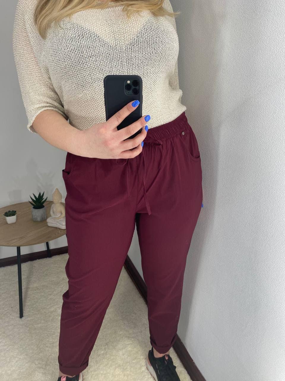 Летние женские брюки штаны больших размеров стрейч ...