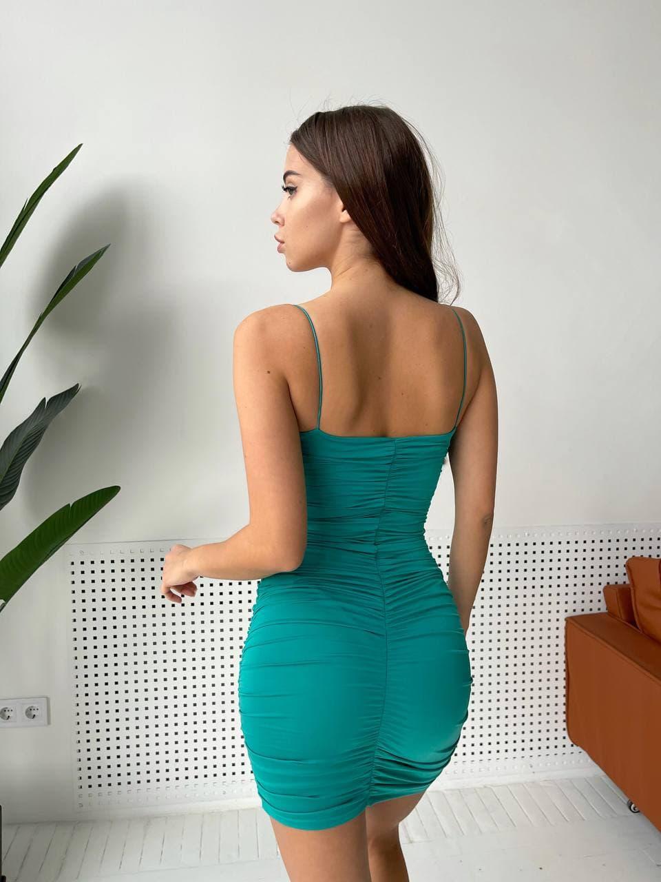 Огненное стильное вечернее облегающее платье трико ...