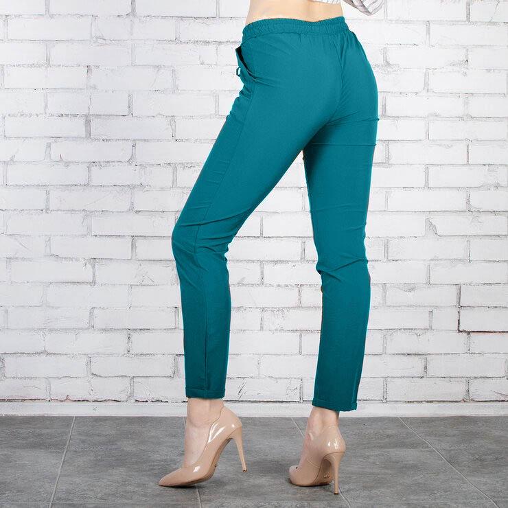 Стильные базовые летние укороченные штаны брюки ка ...