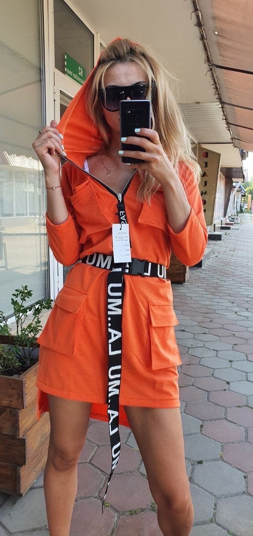 Супер стильное брендовое молодежное яркое платье н ...