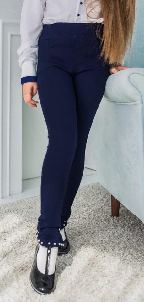 Стильные модные молодежные школьные брюки на девоч ...