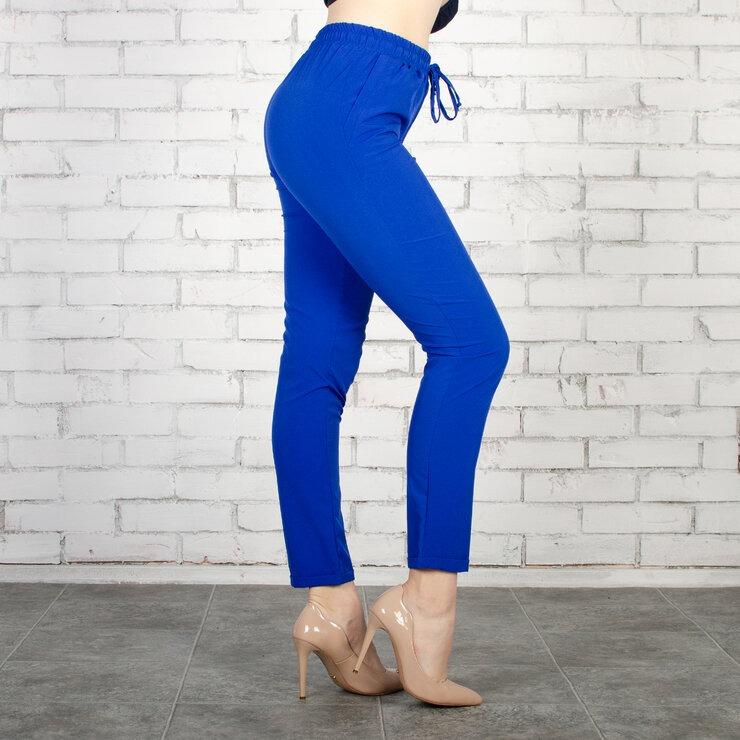 Стильные летние короткие однотонные брюки больших  ...