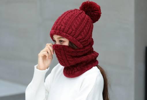 Как правильно подобрать цвет шапки и шарфа